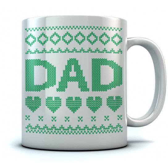 Dad Ugly Christmas Mug