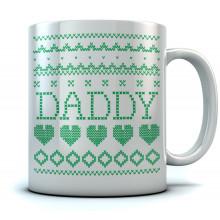 Daddy Ugly Christmas Mug
