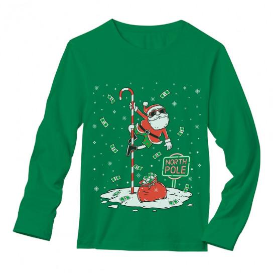 Santa North Pole Dancing Funny Ugly Christmas