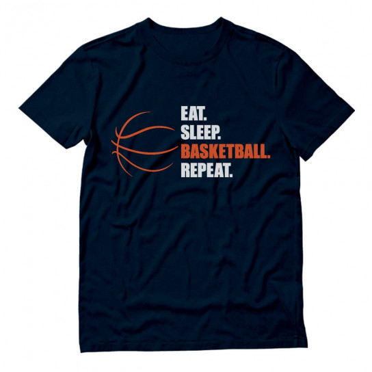 Eat Sleep Basketball Repeat