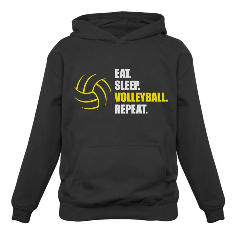 eat sleep volleyball repeat volleyball greenturtle