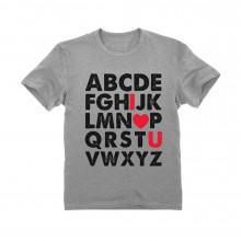 Valentine's Day Gift Alphabet ABC I Love You Children