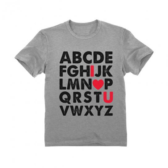 Valentine's Day Gift Alphabet ABC I Love You Children
