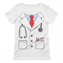 White Doctor Costume