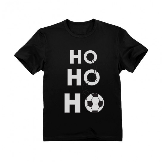 Ho Ho Ho Christmas Gift for Soccer Lovers - Children