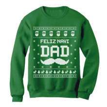Feliz NaviDAD Hunny Holiday Father Ugly Christmas Sweater