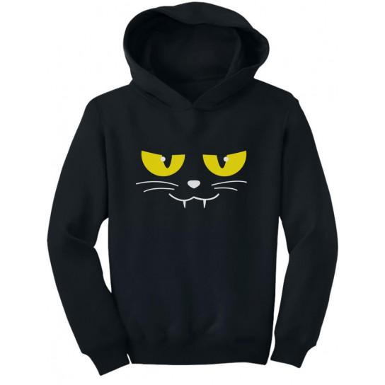 Halloween Evil Cat Face