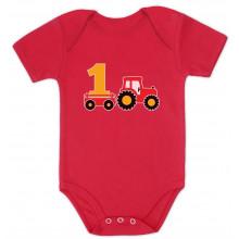 1st Birthday Boy Gift Tractor