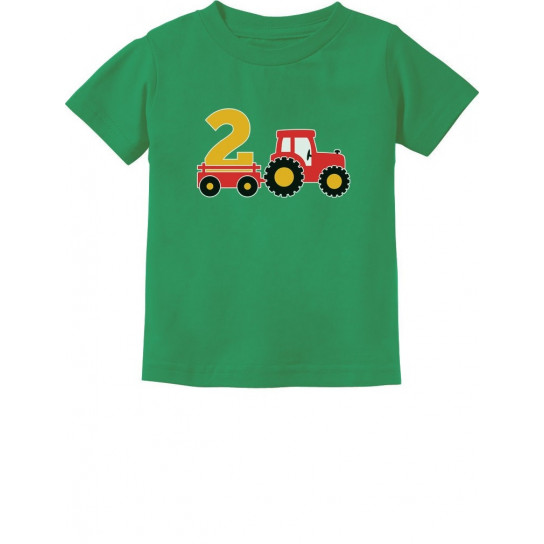 Birthday Tractor 2 Year Old Gift
