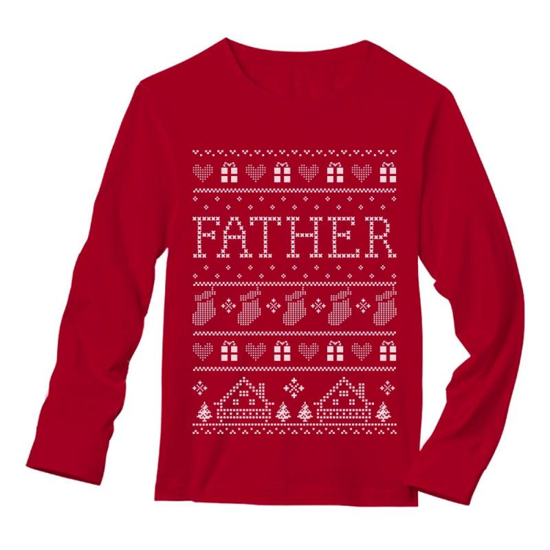 Father Ugly Christmas Sweater - Christmas