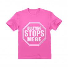 Stop Sign - Bullying Stops Here - Children