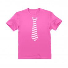 Striped Tie for Pink Day - Children