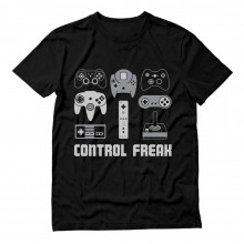 Video Game Control Freak Gamer