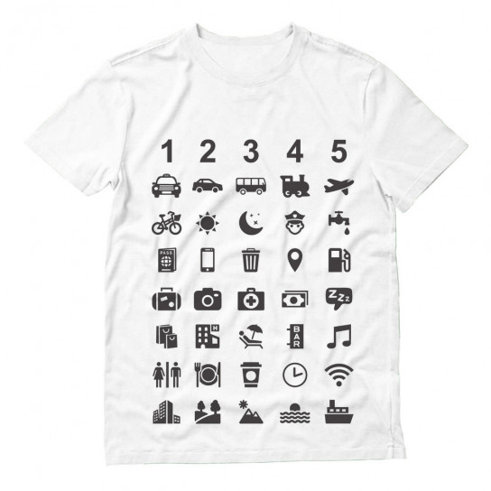 Traveler Communicate With 40 Icons
