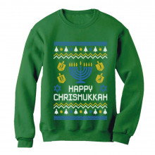 Happy Chrismukkah - Xmas Hanukkah
