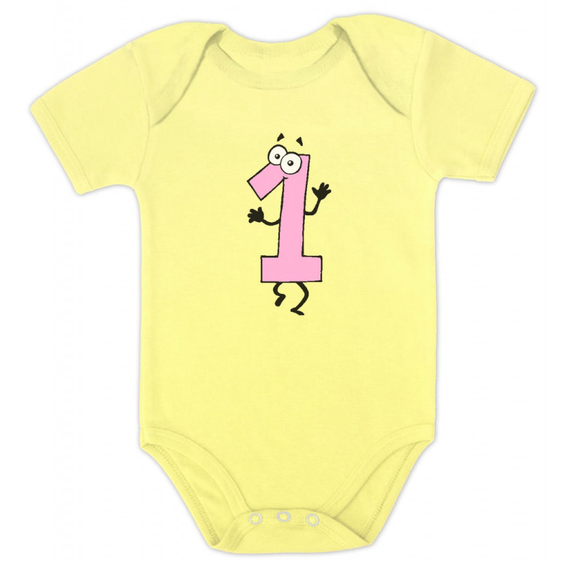 f526758ecee Baby Girl I'm 1 One Year Old Birthday Gift - 1 Year Old - Greenturtle