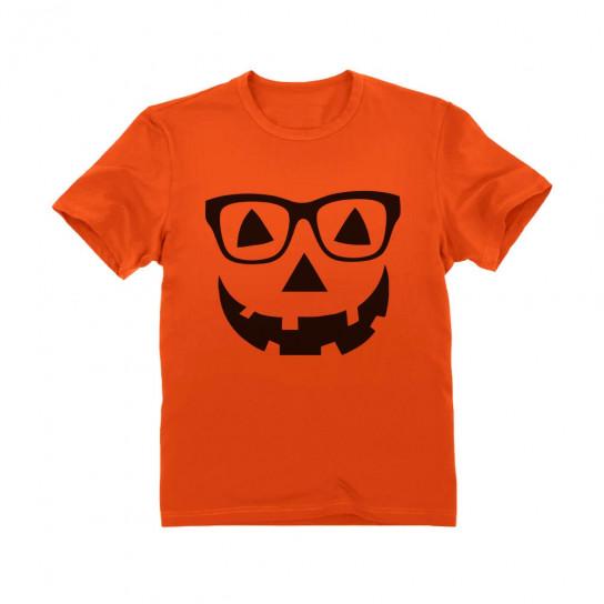 Geeky Pumpkin Halloween Jack O' Lantern