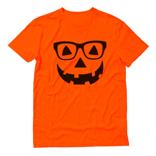 JACK O' LANTERN Geeky Pumpkin Face Halloween