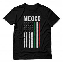 Big Mexican American Flag