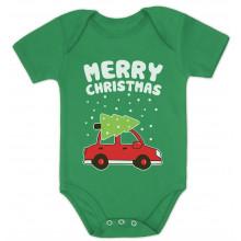 Merry Christmas Xmas Tree on Car