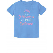 Real Princesses Are Born In September Birthday