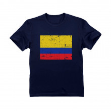 Colombia Flag Vintage Style Retro Colombian - Children