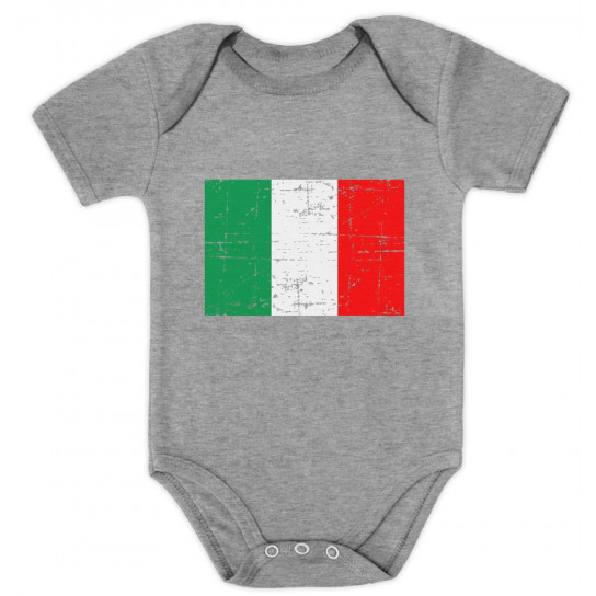 Retro Italy Flag - Babies