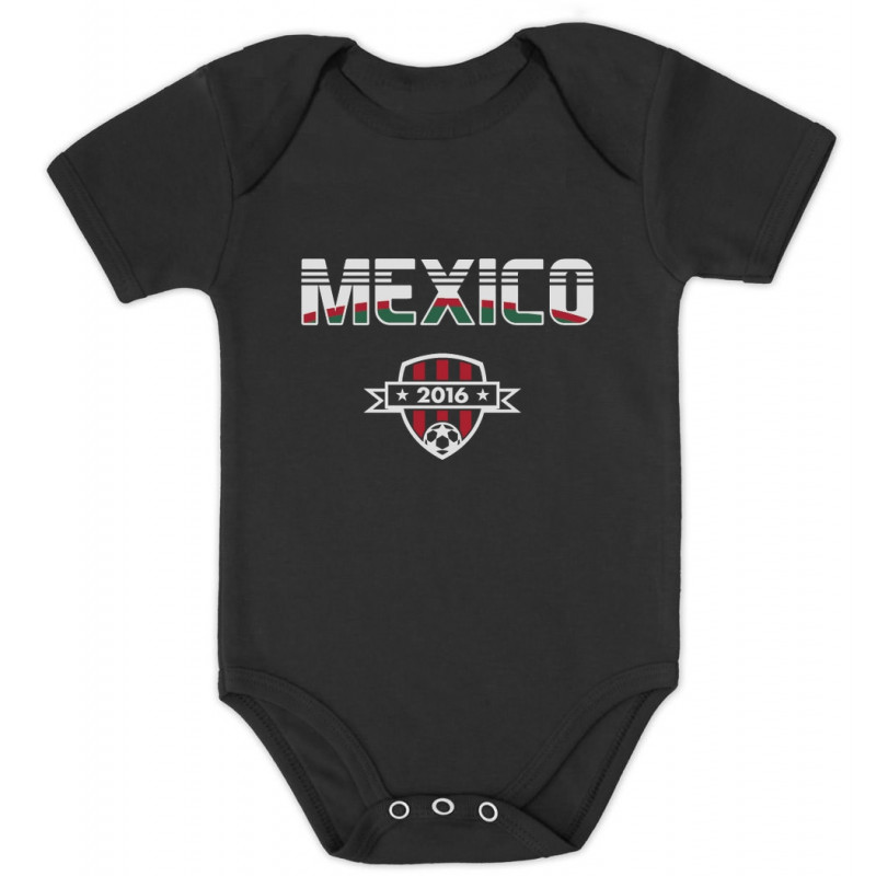 Mexico Soccer Team 2016 Football Fans - Babies - Mexico - Greenturtle 89310a709