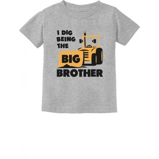 Big Brother Gift for Tractor Bulldozer Children