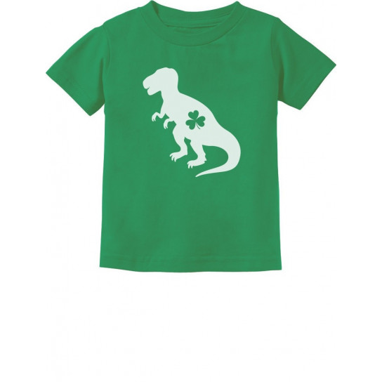 Irish T-Rex With Clover Hat