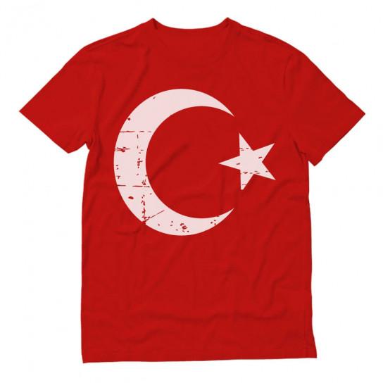 Retro Turkey Flag Vintage Turkish Pride