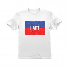 Haiti Vintage Flag
