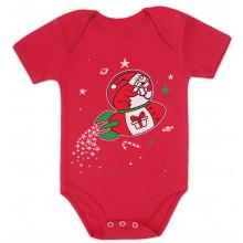 Space Rocket Santa Christmas
