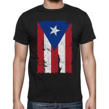 Vintage Distressed Puerto Rico Flag