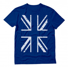 White United Kingdom Flag