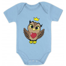 Cute Owl with Crown Babies