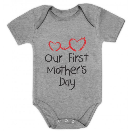 Our First Mother's Day - Baby Onesie