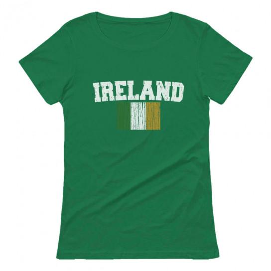 Ireland Distressed Flag