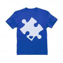Cut Out Heart Puzzle- Children