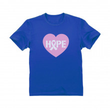Heart Shaped Hope Pink Ribbon