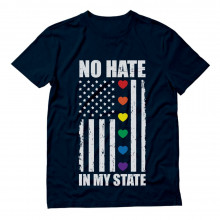 No Hate In My State Flag