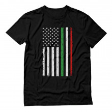 Italy Usa Flag