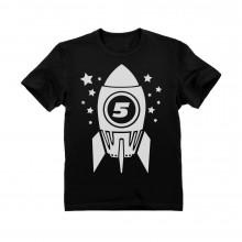 5th Birthday Space Rocket