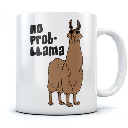No Problem Llama Mug