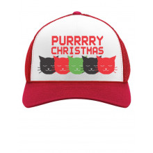 Purrry Christmas Cute Cat Lover Xmas Party Hat