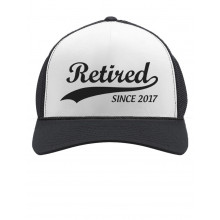 Retired Since 2017 - Cool Retirement Cap