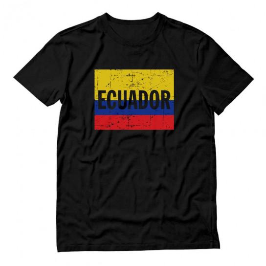Ecuador Flag - Vintage Retro Ecuadorian