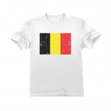 Retro Belgium Flag Vintage Belgian