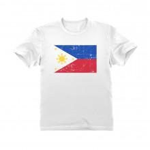 Retro Philippines Flag Vintage