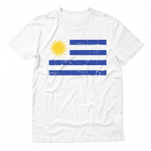 Retro Uruguay Flag Vintage Uruguayan